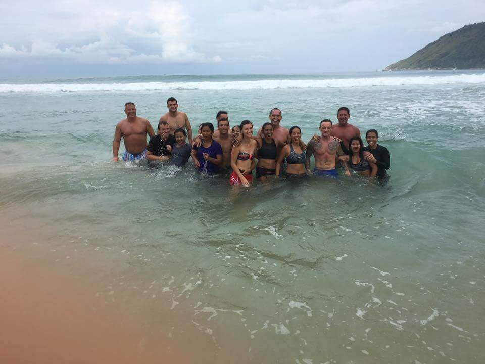Phuket corporate staff retreat
