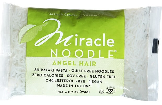 Healthy Pasta: Miracle Noodle Angel Hair Pasta